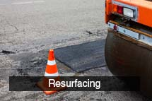Road Resurfacing Contractors in Edinburgh & Lothians